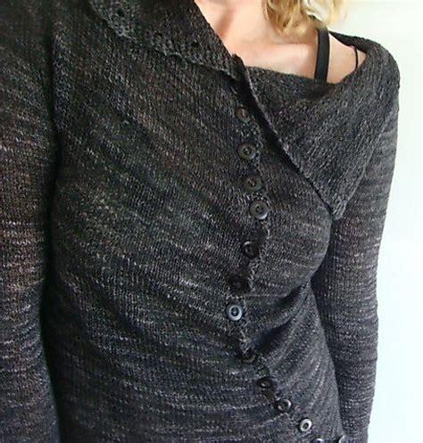 Cardi Twist grey twist cardi pattern by judith brien ravelry gray