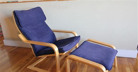 Ikea Armchair Sale by Moving Sale Ikea Poang Armchair W Footstool Sold