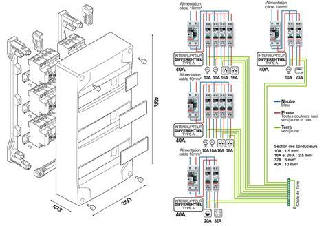 Tableau électrique D Une Maison 2601 by Schema D Un Tableau Electrique Li72 Montrealeast