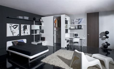 black and white themed bedroom funky and pleasant black and white themed teen bedroom