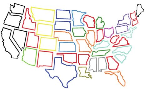 rubber st hawaii large outlines of states 28 images us outline large