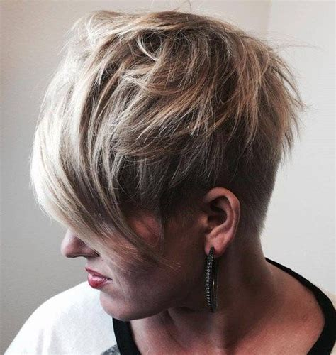 short edgy undercut hairstyles 70 short shaggy edgy choppy pixie cuts and styles
