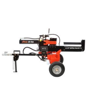 ariens 22 ton 174cc gas log splitter 917030 the home depot