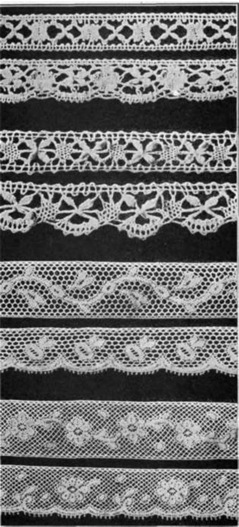 lace pattern name lace edging