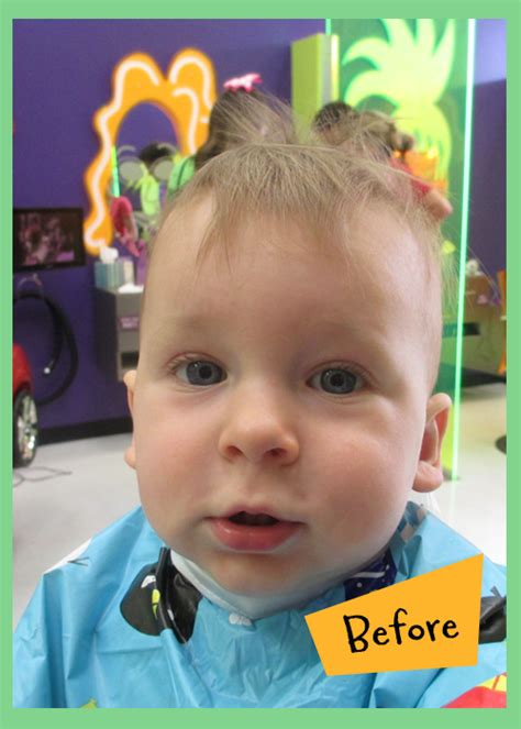baby boy hairdresser baby s first haircut package at shear madness albuquerque