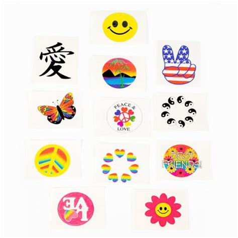 glow in the dark temporary tattoos uk fun express glow in the dark temporary tattoos 72 pieces