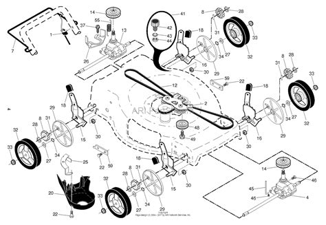husqvarna lawn mower parts diagram husqvarna hu675awd 96143010802 2014 05 parts diagram