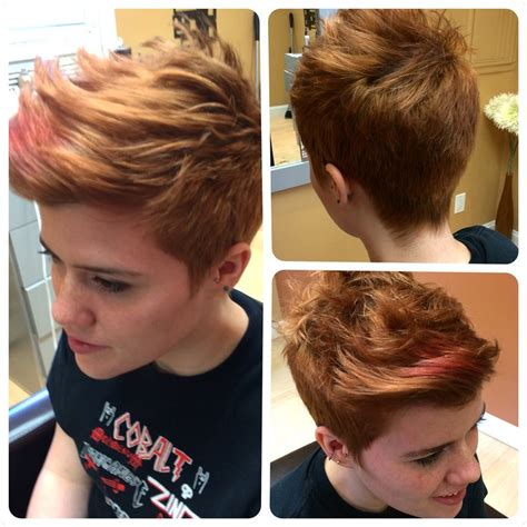 pixie haircuts from front i did this cut for rae she has short back and sides with