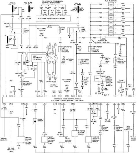ford    gas enginewiring diagrampump