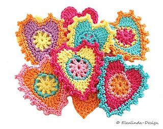 ravelry patterns library little hearts ravelry little hearts pattern by paula matos