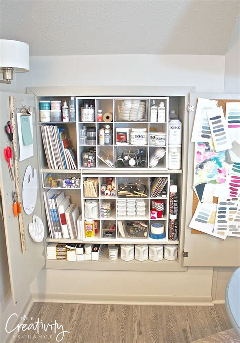 Supplies Needed To Paint A Room by Creative Ways To Organize Craft Supplies And Paint