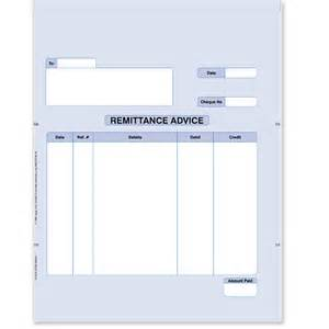remittance slip template remittance advice stationery store