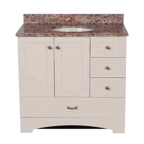 Effects Vanity Top by St Paul 36 In Manchester Vanity In Vanilla With 37 In