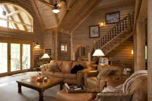 Home Design Elements Log Home Lavely Traditional Living Room
