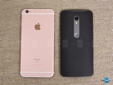 apple iphone    motorola moto  pure phonearena