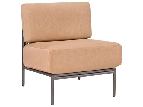 Woodard Patio Furniture Cushions Woodard Jax Armless Sectional Unit Replacement Cushions