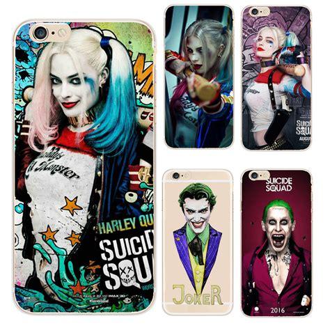 Casing Samsung S6 Squad Harley Quinn Margot Robbie Custom jared leto joker margot robbie harley quinn squad dc comics soft tpu cover for