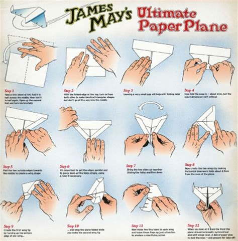 Show Me How To Make A Paper Airplane - how to make the ultimate paper airplane the top gear way