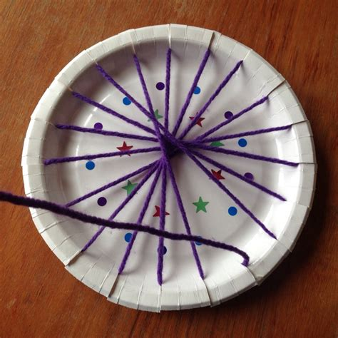 paper plate weaving craft paper plate weaving weaving easy weaving