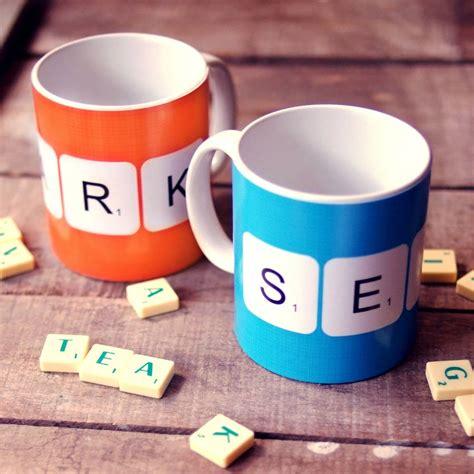scrabble mugs personalised scrabble mugs by a of