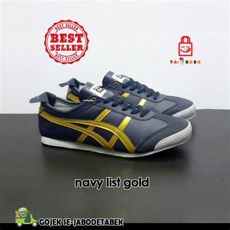 Limited Edition Sepatu Nike Futsal New High Premium Terbaru asics navy list gold tokobelibeli