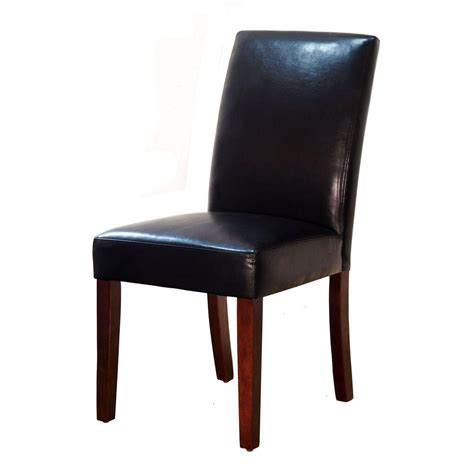 home decorators dining chairs home decorators collection brexley espresso bonded leather