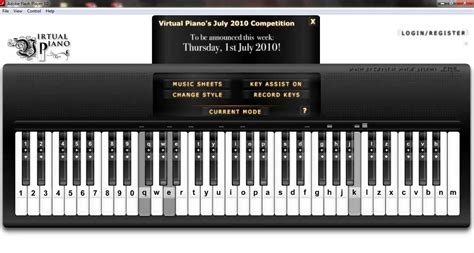 tutorial virtual keyboard virtual piano f 252 r elise ludwig van beethoven doovi