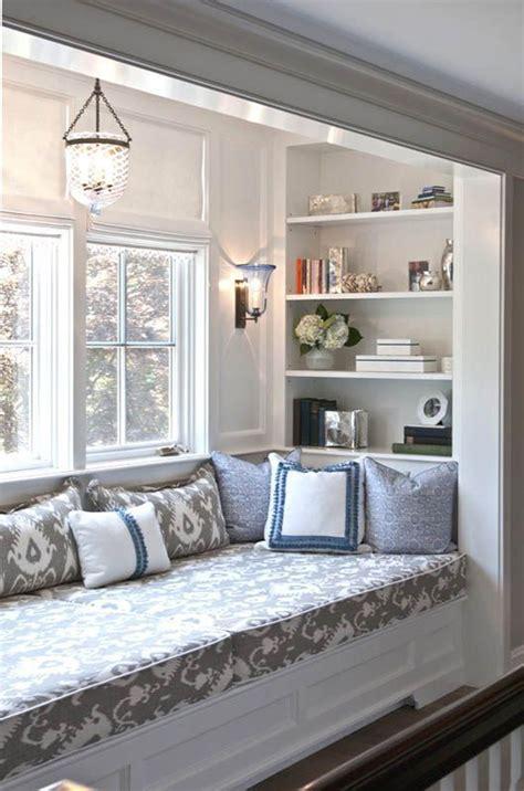 stylish built  reading nooks home design  interior