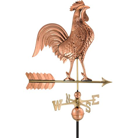 Rooster Weathervane Directions Gd515p 27 Quot L X 18 Quot W X 46 Quot H Rooster