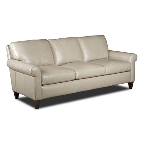 bradington young danica leather stationary sofa 253 95