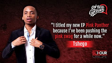 on the ground tshego on the pink panther ep title