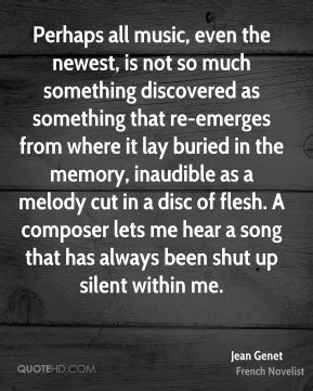 jean genet music music quotes page 188 quotehd