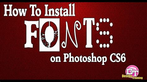 how to install 100 working photoshop cs6 or cc on ubuntu debian how to install fonts on photoshop cs6 youtube