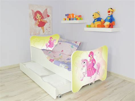 pillow beds for kids children bed pony single bed for girls kids with mattress
