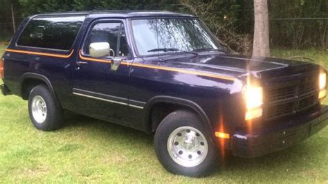 dodge charger for sale in birmingham al 1992 dodge ramcharger 318 auto for sale in birmingham al
