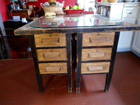 antique kitchen island desk collectors weekly