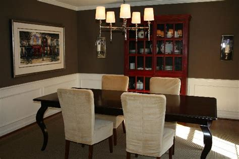 Chocolate Brown Dining Room christa delgado design inc design dilemma answer