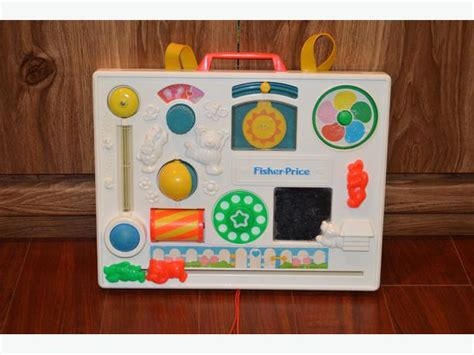 Fisher Price Crib Activity Center by 1988 Vintage Fisher Price Crib Activity Center Saanich