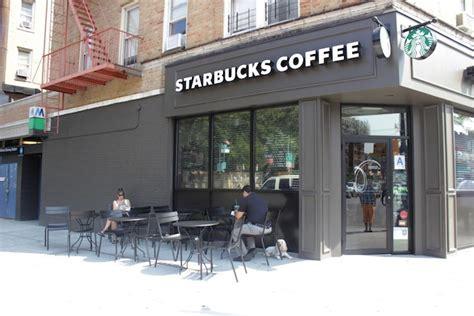Kitchen Island Heights Dyckman Street Starbucks Adds Outdoor Seating Inwood