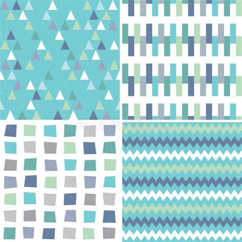 pattern aqua blue seamless hipster geometric patterns in aqua blue and gray
