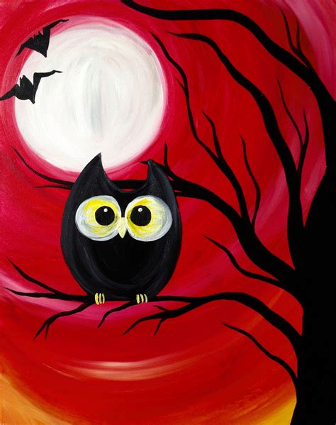 paint nite owl paint nite spooky buckhead saloon pittsburgh