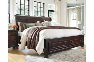 porter king sleigh bed furniture homestore