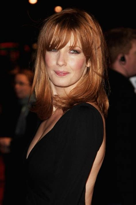english actress with red hair kelly reilly in me orson welles uk film premiere