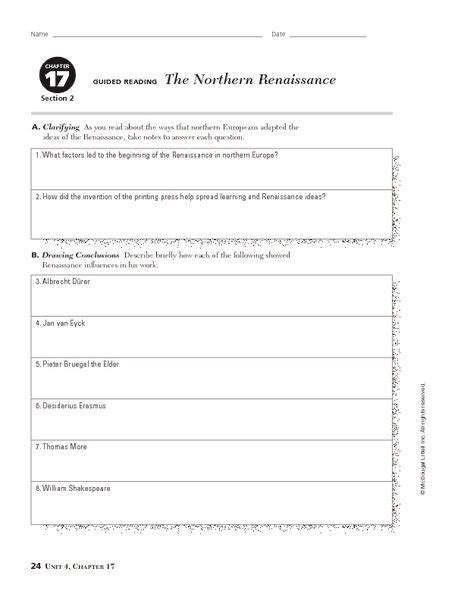 The Renaissance Worksheet Answers by 82 Best Images About World History On