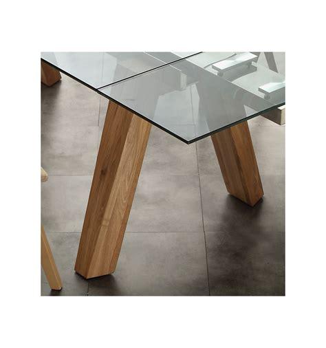 tavoli legno vetro albenga tavolo da pranzo allungabile in legno massello