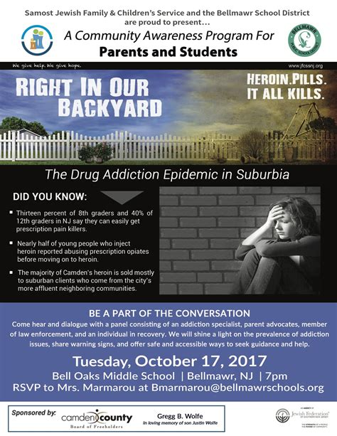 in our backyard right in our backyard the drug addiction epidemic in