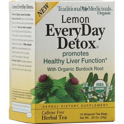 Traditional Medicinals Everyday Detox Lemon by Traditional Medicinals Everyday Organic Lemon Detox 6x16