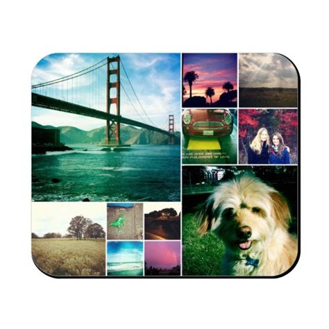 Photo Collage Mouse Mat by Collage Squares Mouse Pad Custom Mouse Pads Shutterfly