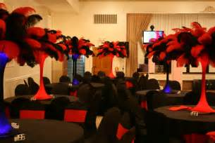 red and black graduation party decorations archives