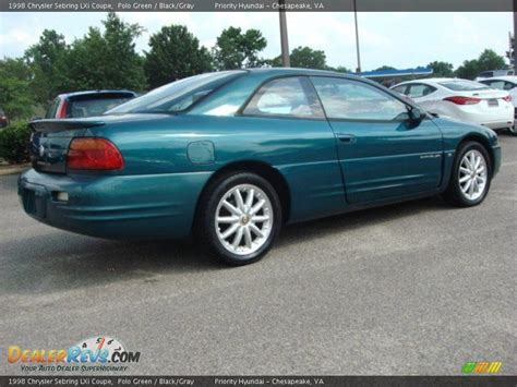 1998 Chrysler Sebring Lxi by Polo Green 1998 Chrysler Sebring Lxi Coupe Photo 4